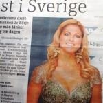 """Madeleine Singelprinsessan hetas i Sverige"""" İsveçli erkekler Madeleine'i dorukta düşünüyorlar"""
